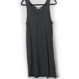 Madewell Striped Scoopneck Knit Dress